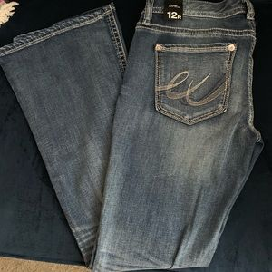 Express Boot Cut Jeans Size 12R